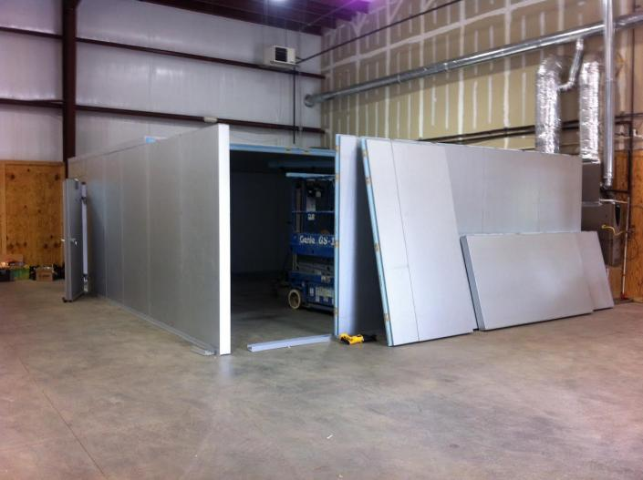 [Image: While we offer a selection of standard sized walk-in coolers, we also offer custom sized units that can be built to your exact specifications.]